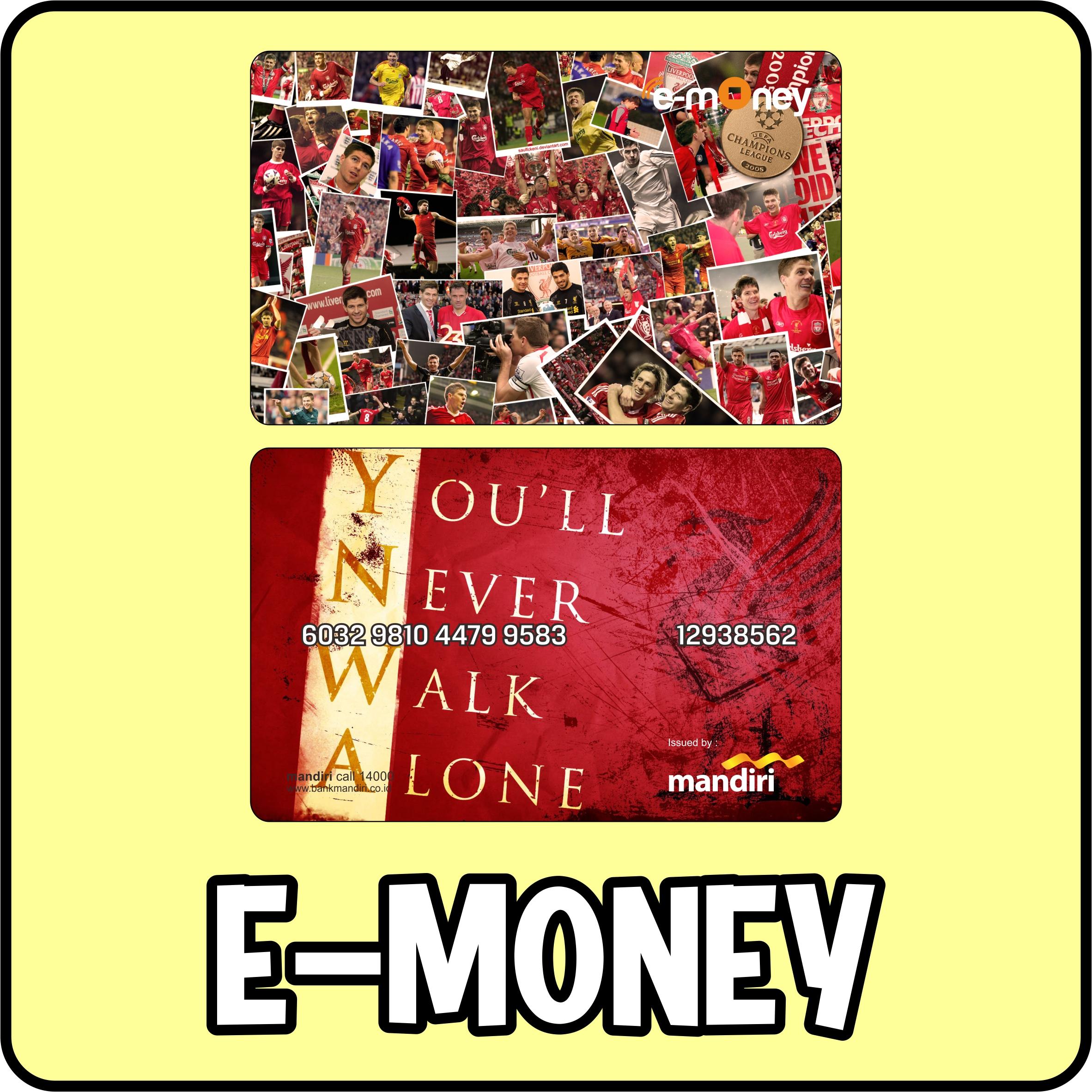 E-money Card Custom Order