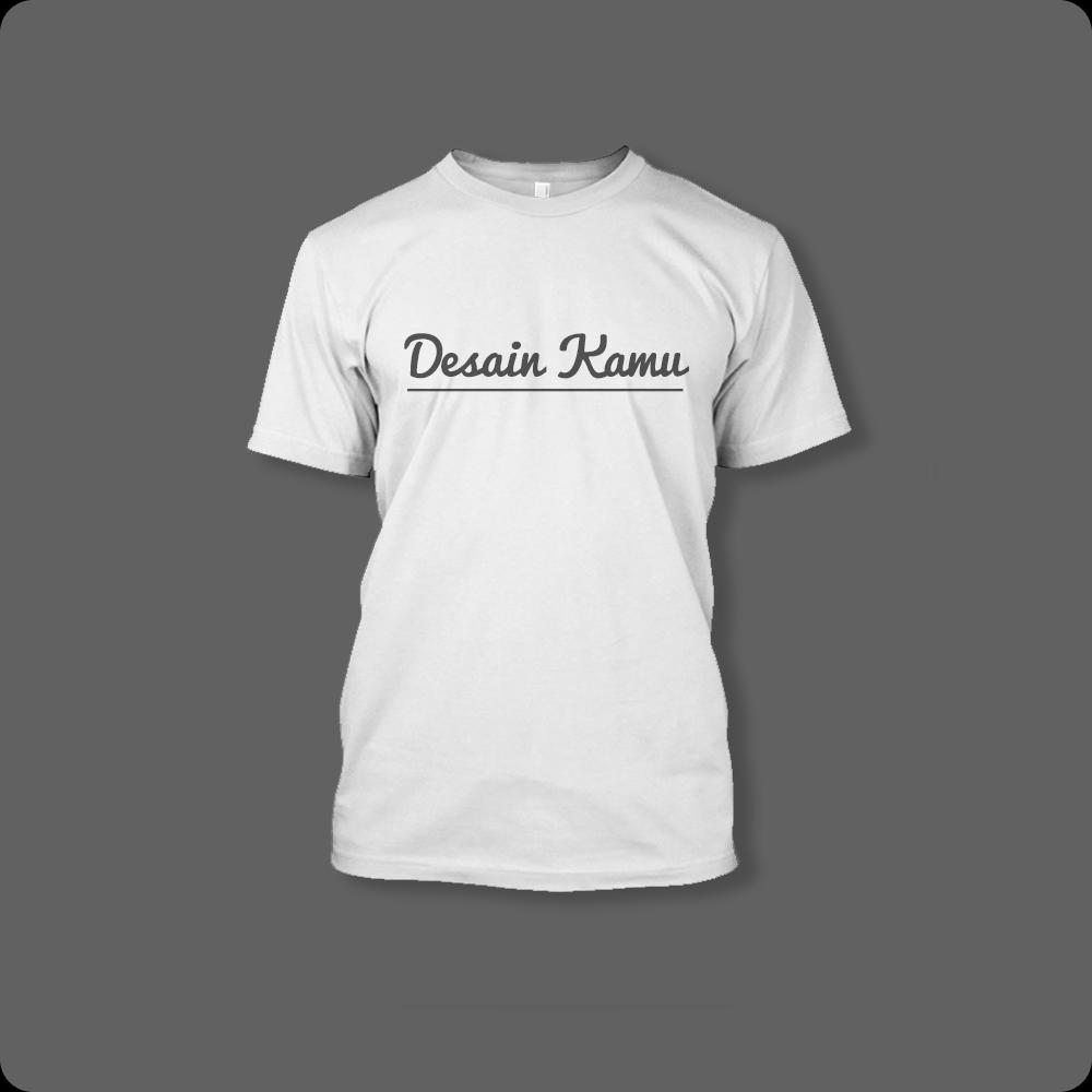 T-shirt Putih Custom Order